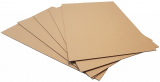 2mm Recycled Brown -Small Sheet: 1000 x 750mm (pack of 4)