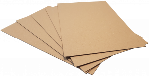 Pads A5-B2: 210x148mm BROWN 2mm Thick Cardboard Pads (98pce pack)