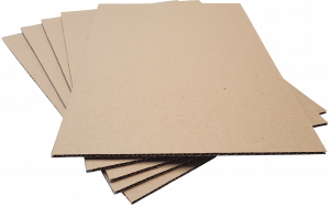 Pad A5-B3: 210 x 148mm Brown Recycled 3mm Thick Cardboard  (100pce pack)