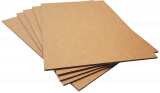 Pads A1-K3: 840x594mm Kraft Brown 3mm Thick Cardboard (8pce pack)
