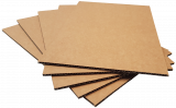 Pads A1-K4: 840x594mm Kraft Brown 4mm Thick Cardboard (8pce pack)