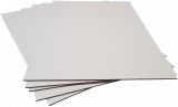 Pads A1-W2: 840x594mm White 2mm Thick Cardboard (3pce pack)