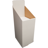 "Dump Bin / Display Bin ""Stacker"" Brown, White or Black"