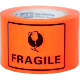 """Fragile"" Printed Labels 100x75mm"