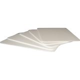 Plastic Fluteboard Sheet F5W: 5mm Thick White
