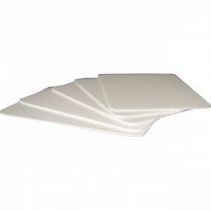 Plastic Fluteboard Sheet F3W: 3mm Thick White